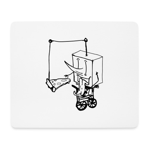 dude food - Mouse Pad (horizontal)