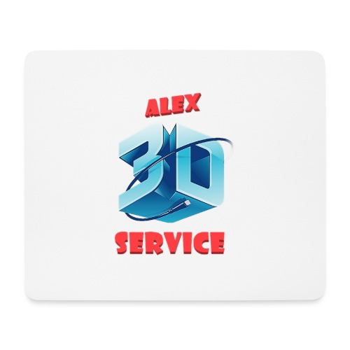 logo emporesa de impresion 3d en albacete - Alfombrilla de ratón (horizontal)
