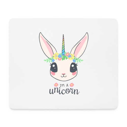 I am Unicorn - Mousepad (Querformat)