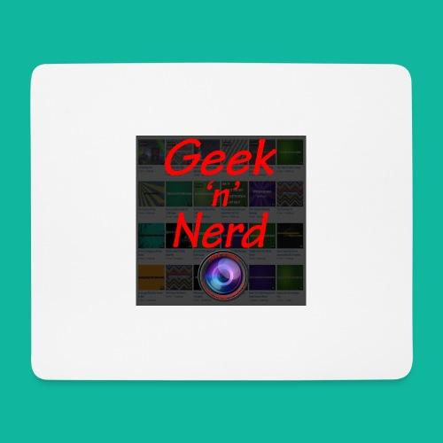 Geek n Nerd Logo jpg - Mouse Pad (horizontal)