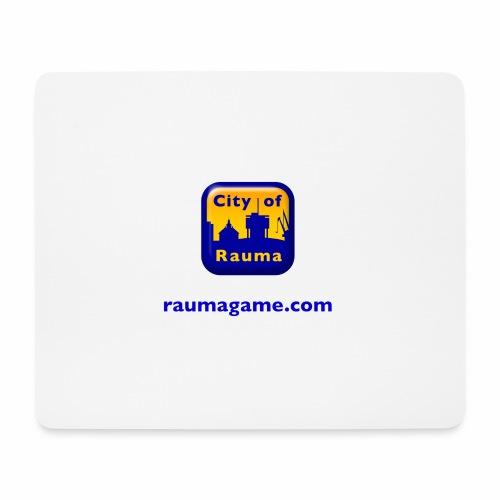 Raumagame logo - Hiirimatto (vaakamalli)