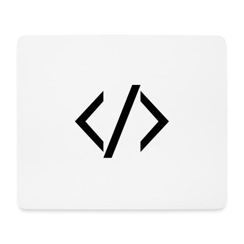 Code - Dark - Mouse Pad (horizontal)
