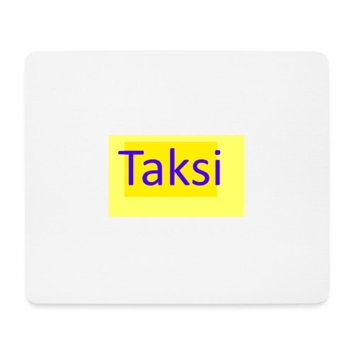 Taksi - Hiirimatto (vaakamalli)