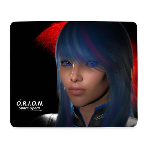 skyblue3riesig - Mousepad (Querformat)