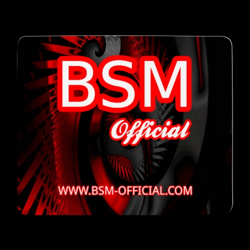 BSM Official Mouse Mat Design png - Mouse Pad (horizontal)