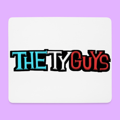 The Ty Guys Font - Mouse Pad (horizontal)