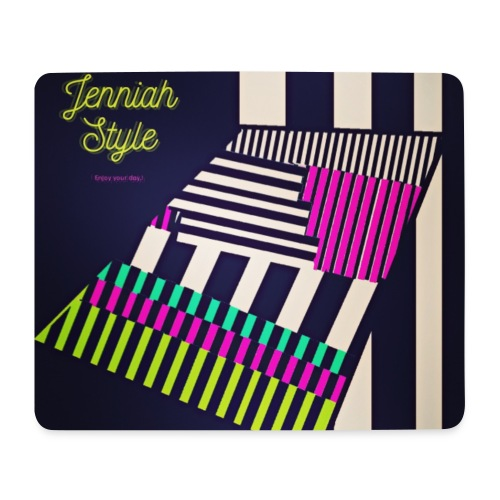 Stairs - stripe - Mousepad (Querformat)