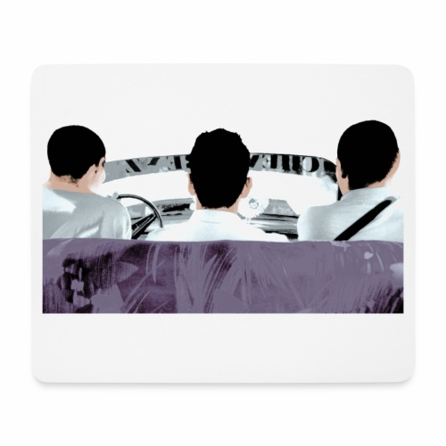 Let's go - Mouse Pad (horizontal)