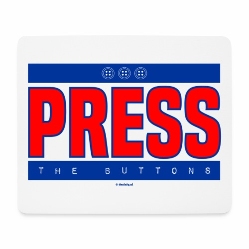 Press the buttons - Muismatje (landscape)