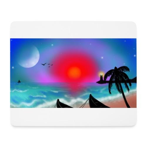 SUNSET BEACH - Mousepad (Querformat)