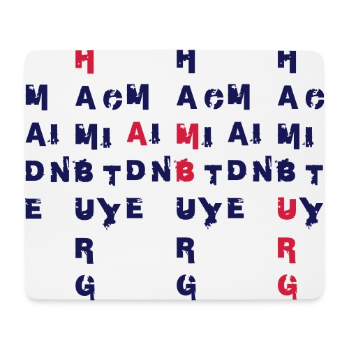 Made in Hamburg City - Mousepad (Querformat)