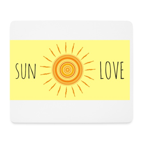 Sun Love - Mouse Pad (horizontal)