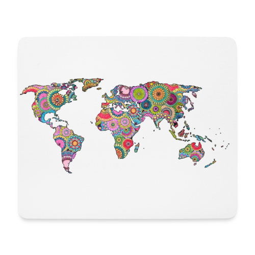 Hipsters' world - Mouse Pad (horizontal)