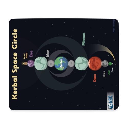 Tapis de Souris Kerbal Space Circle - Tapis de souris (format paysage)