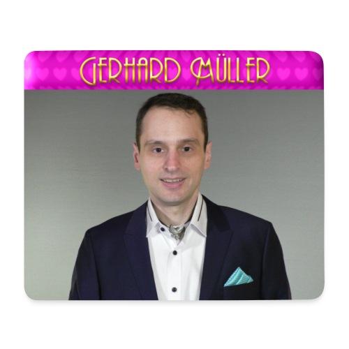 Foto und Logo von Gerhard Müller - Mousepad (Querformat)