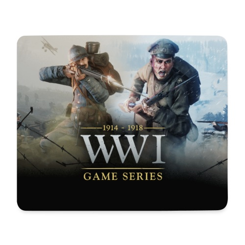 WW1 Game Series Mouse Mat - Muismatje (landscape)