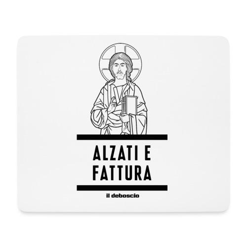 ALZATI E FATTURA - Tappetino per mouse (orizzontale)