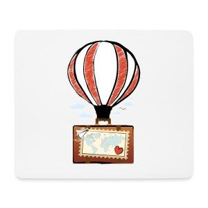 CUORE VIAGGIATORE Gadget per chi ama viaggiare - Tappetino per mouse (orizzontale)