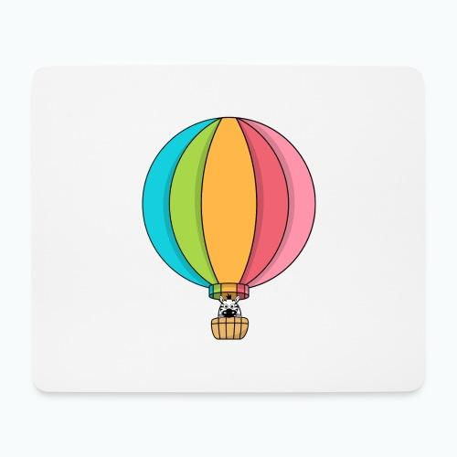 Zebra Zach Air Balloon - Musmatta (liggande format)