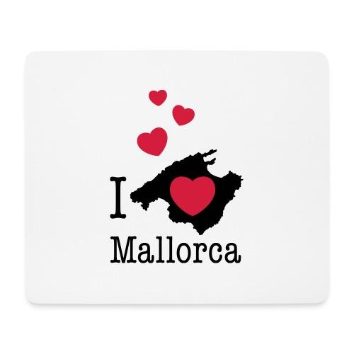 love Mallorca Balearen Spanien Ferieninsel Urlaub - Mouse Pad (horizontal)