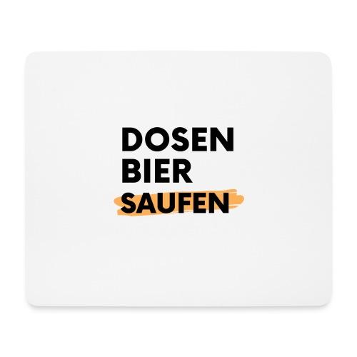 Dosenbier Saufen - Mousepad (Querformat)
