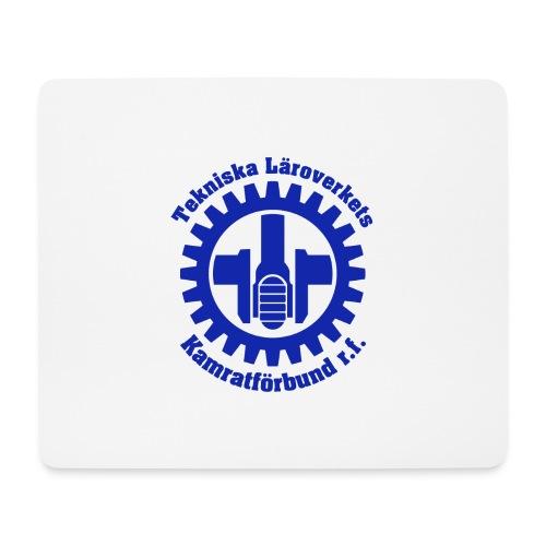 TLK Logo + Text Blå - Musmatta (liggande format)