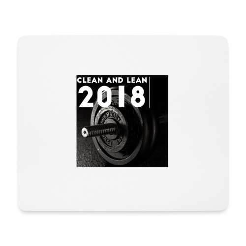 Clean and Lean 2018 - Mouse Pad (horizontal)