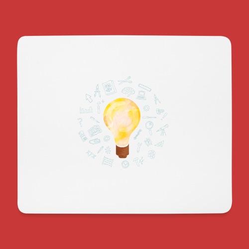 5 IDEEN Glühbirne 2018 - Mousepad (Querformat)
