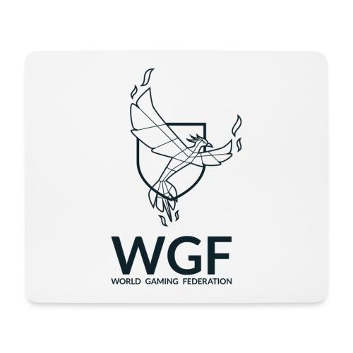 LOGO-WGF_trame-blanche-RE - Tapis de souris (format paysage)