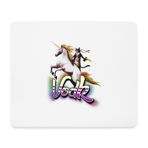 VodK licorne png - Tapis de souris (format paysage)