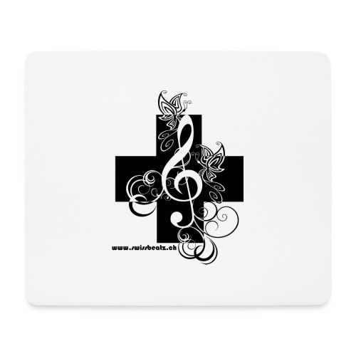 Swiss Beatz Logo non L - Mousepad (Querformat)