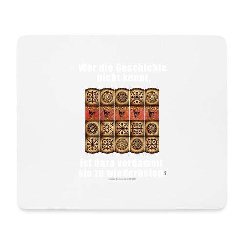 71_Geschichte_Lernen - Mousepad (Querformat)