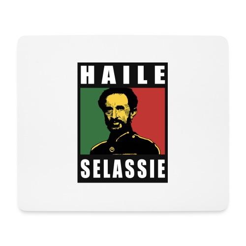 Haile Selassie - Rastafari - Reggae - Rasta - Mousepad (Querformat)