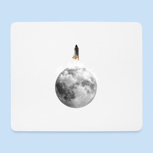 Mondrakete - Mousepad (Querformat)