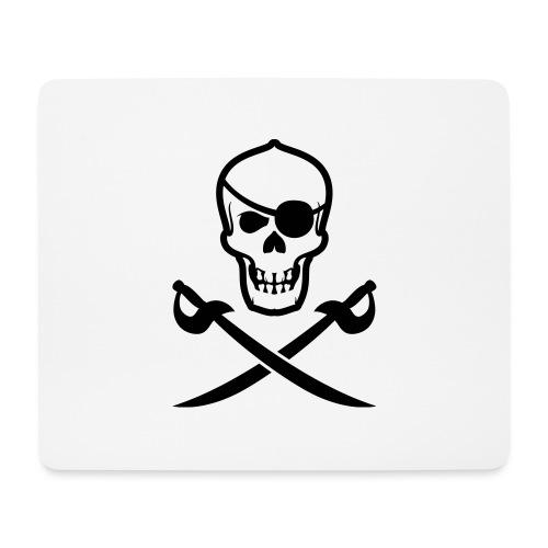 Totenkopf Pirat - Mousepad (Querformat)
