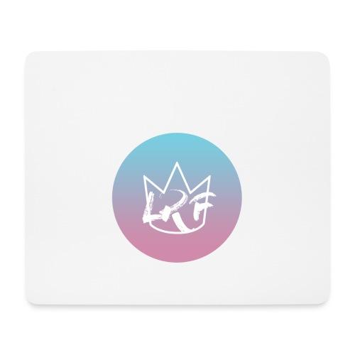 logo lrf rondcasquette - Tapis de souris (format paysage)