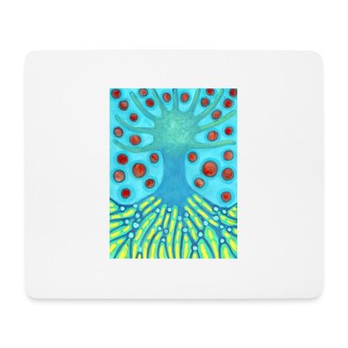 Drzewo I Planety - Podkładka pod myszkę (orientacja pozioma)