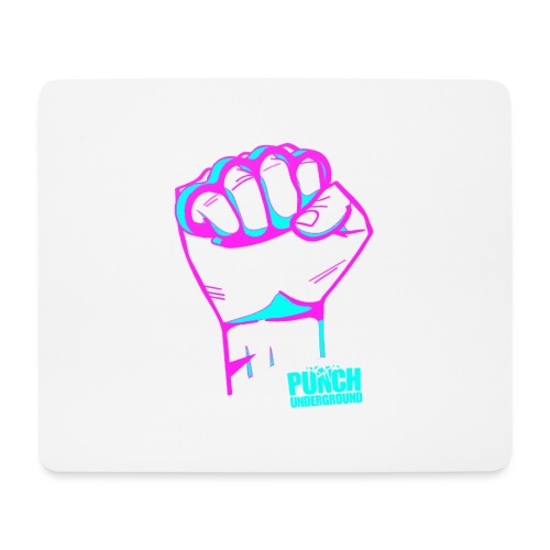 Punch Underground Neon - Mousepad (Querformat)