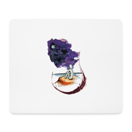 Extraterrestre en contemplation - Tapis de souris (format paysage)