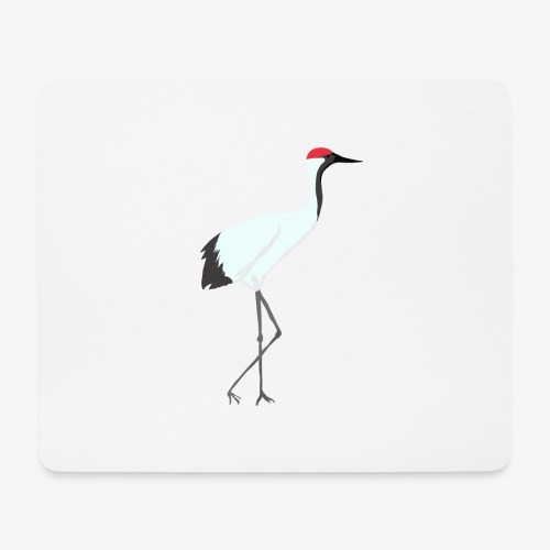 Grue COLLECTION - Tapis de souris (format paysage)