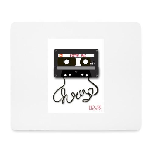 Cesette House Music - Podkładka pod myszkę (orientacja pozioma)
