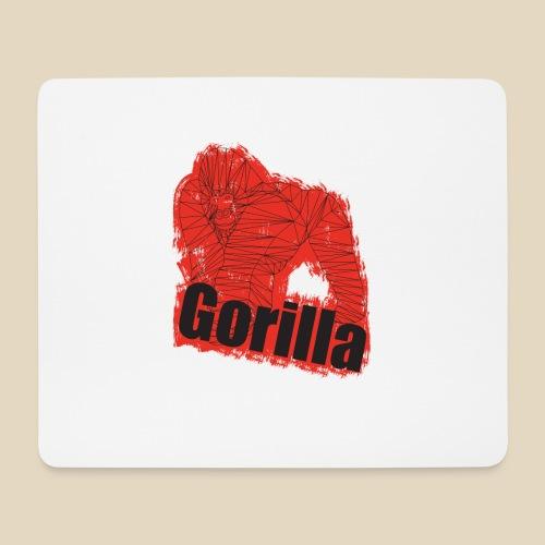 Red Gorilla - Tapis de souris (format paysage)