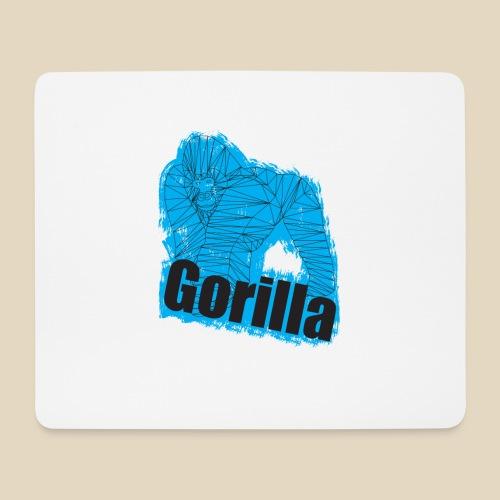 Blue Gorilla - Tapis de souris (format paysage)