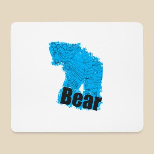 Blue Bear - Tapis de souris (format paysage)
