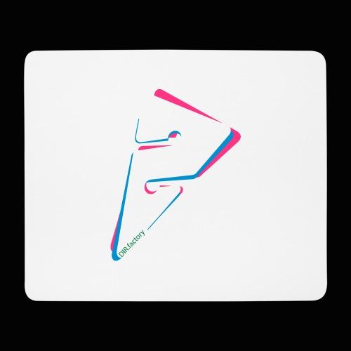 arrow freigestellt mit dirfactorytext - Mousepad (Querformat)