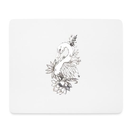 FlowerFlamingo - Mousepad (bredformat)