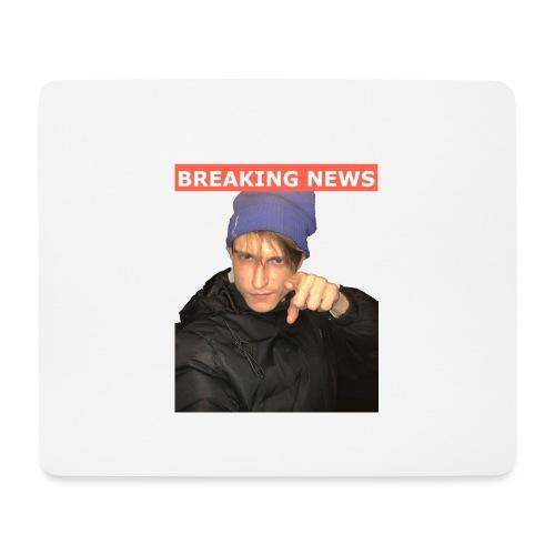 Breaking News - Mousepad (bredformat)