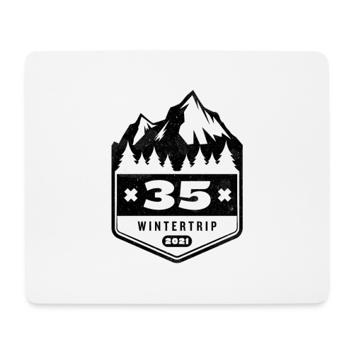 35 ✕ WINTERTRIP ✕ 2021 • BLACK - Muismatje (landscape)