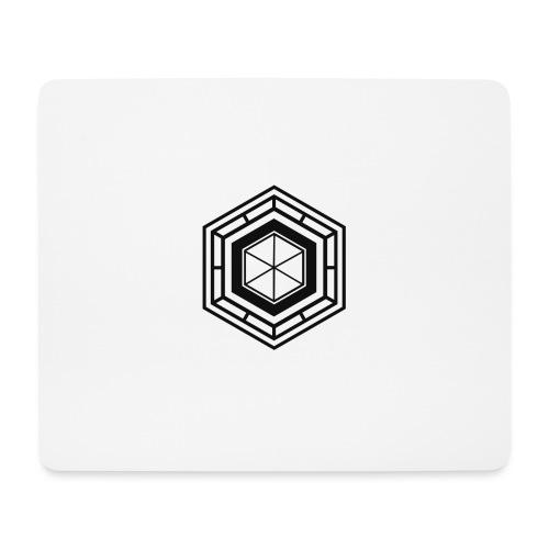 Logo design 1 version noir png - Tapis de souris (format paysage)
