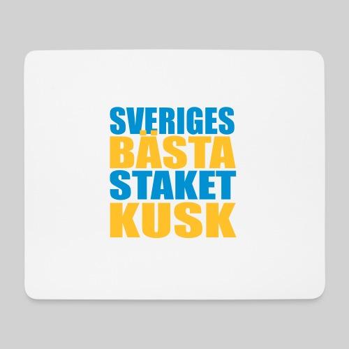 Sveriges bästa staketkusk! - Musmatta (liggande format)